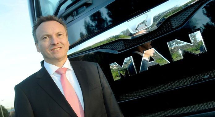 Thomas Hemmerich will succeed Simon Elliott as managing director of MAN Truck & Bus UK from February