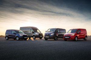The Ford Van Range
