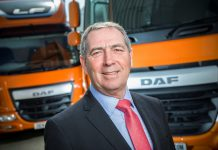 Ray Ashworth. Managing Director, DAF Trucks