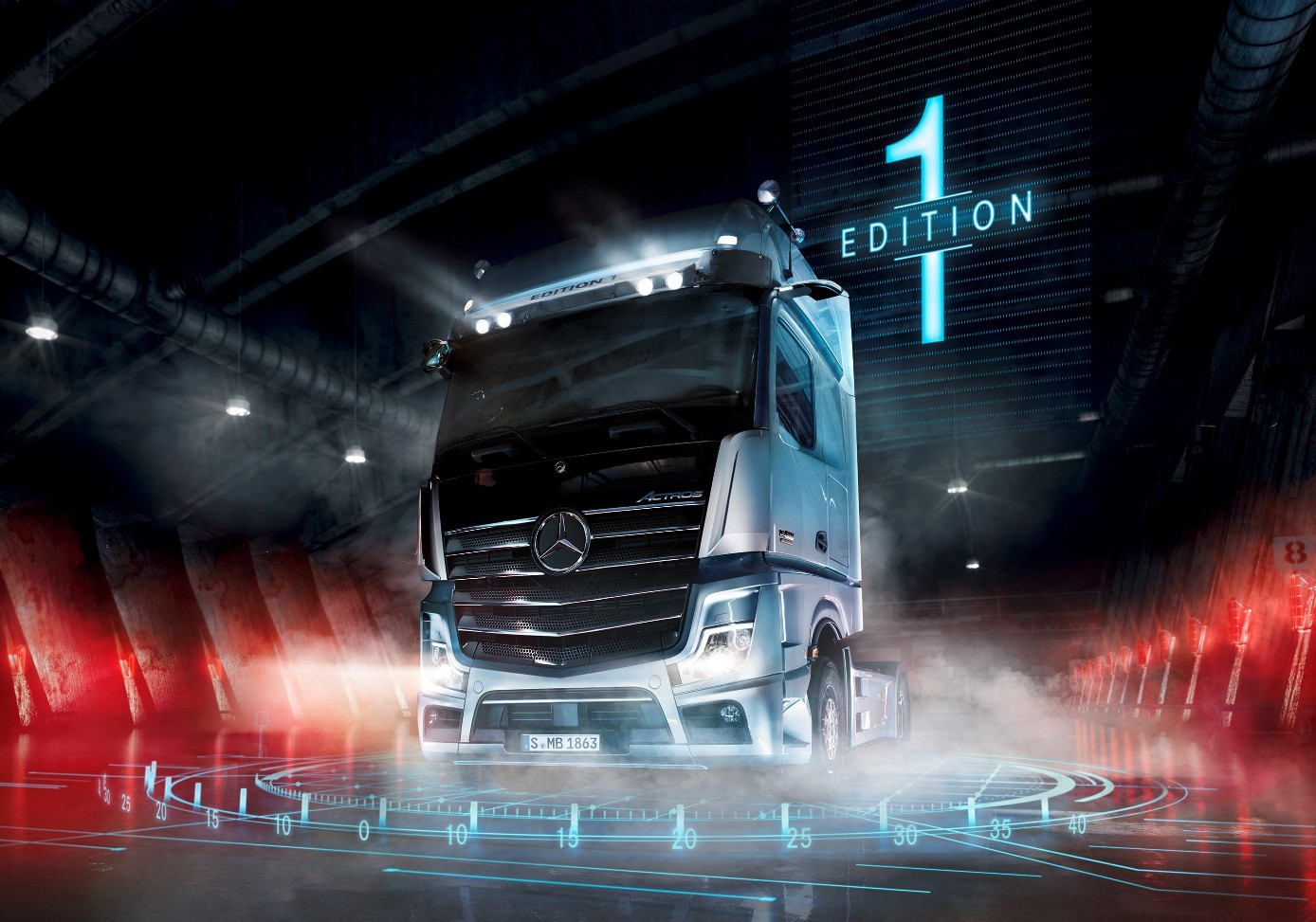 Toyota Route 4 >> Actros Edition 1 (1) - Export and Freight