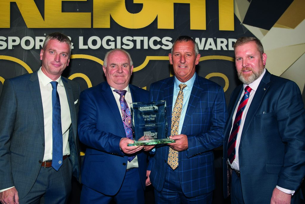 Awards Win - Export and Freight