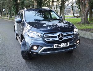 MERCEDES-BENZ X350 is in a Class of its Own - Export and Freight